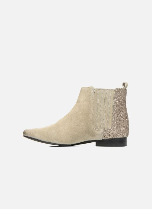 Ankle boots Pepe jeans Redford Half Beige front view