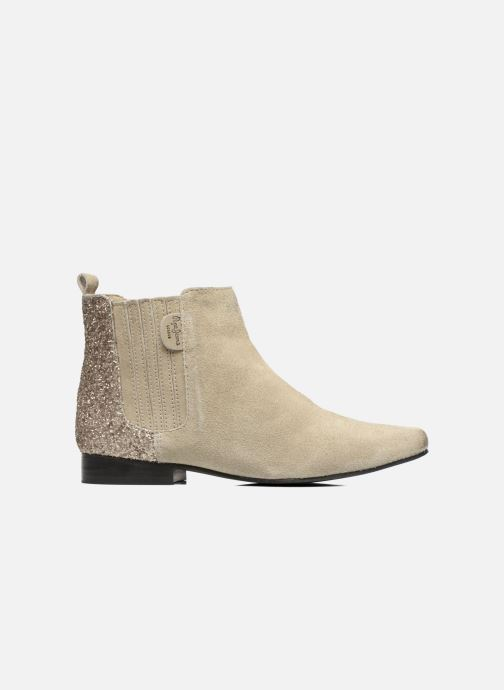Ankle boots Pepe jeans Redford Half Beige back view