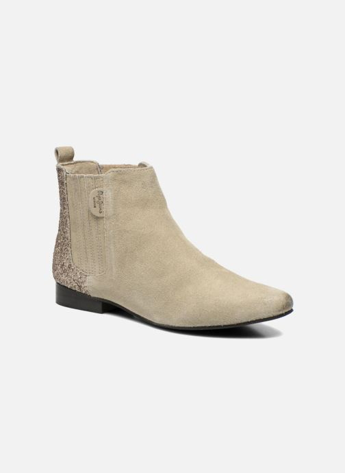 Ankle boots Pepe jeans Redford Half Beige detailed view/ Pair view