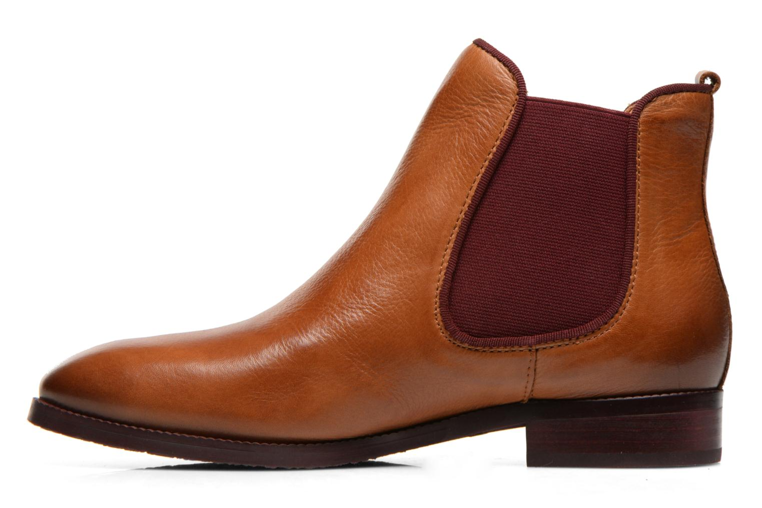Ankle boots Pikolinos Royal W4D-8637 Brown front view