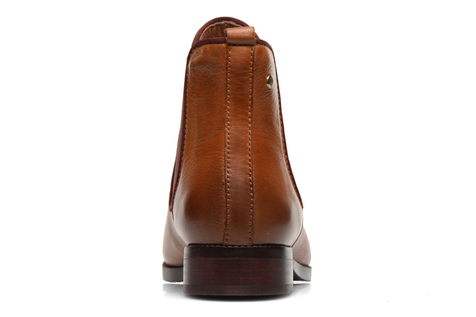 Ankle boots Pikolinos Royal W4D-8637 Brown view from the right