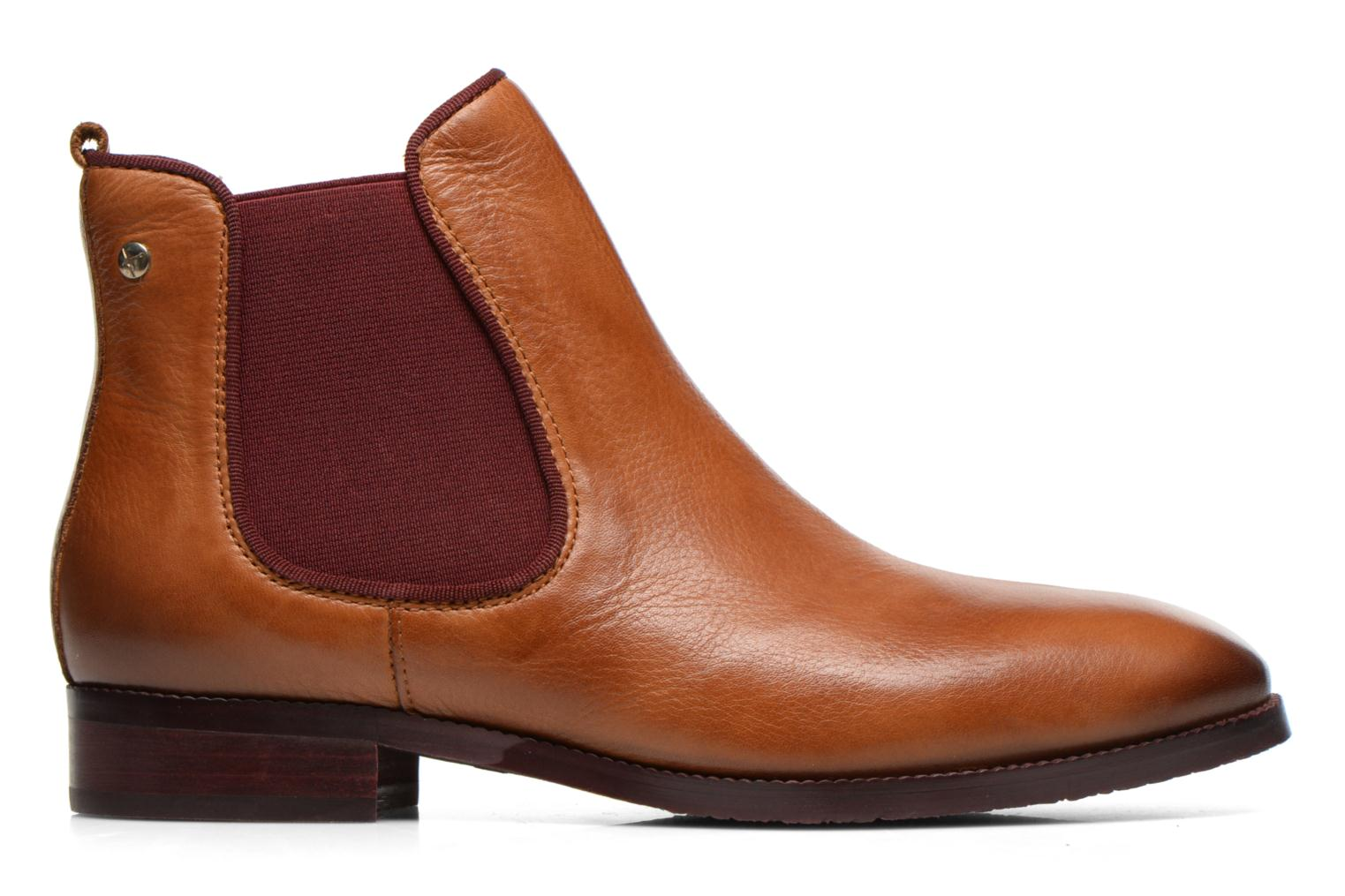 Ankle boots Pikolinos Royal W4D-8637 Brown back view
