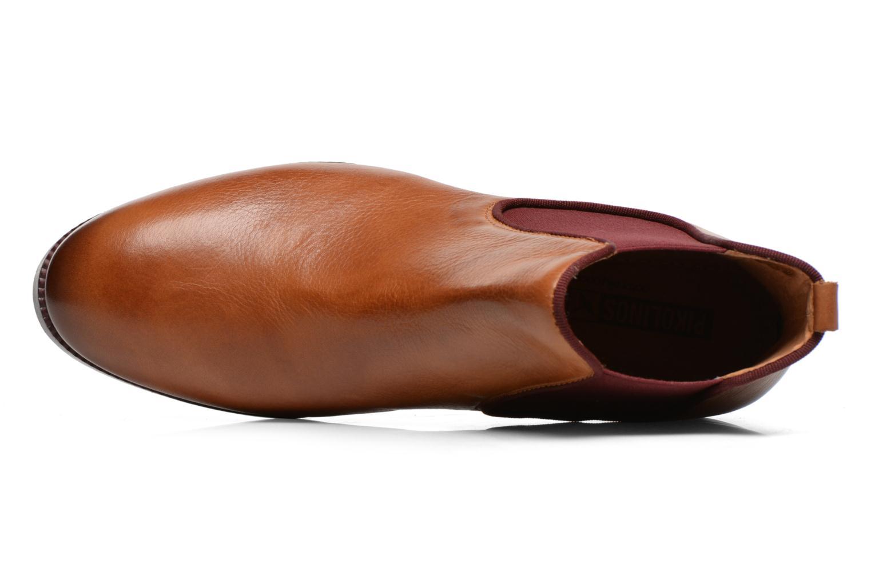 Boots en enkellaarsjes Pikolinos Royal W4D-8637 Bruin links