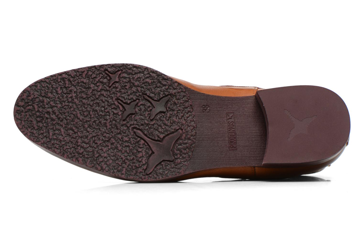 Ankle boots Pikolinos Royal W4D-8637 Brown view from above
