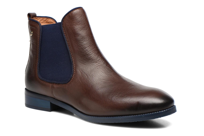 Bottines et boots Pikolinos Royal W4D-8637 Marron vue détail/paire