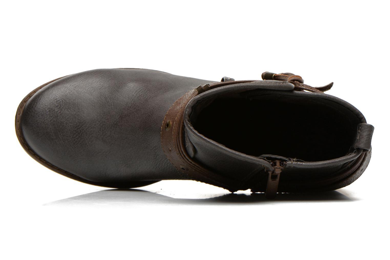 Bottines et boots Mustang shoes Hillun Gris vue gauche