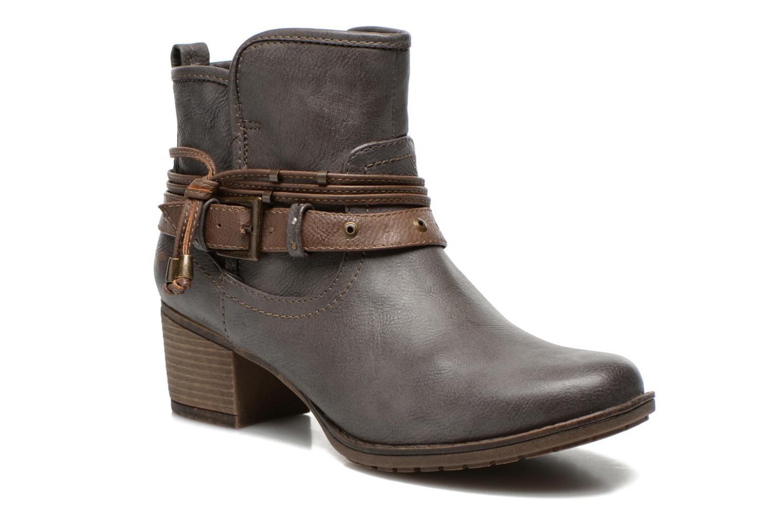 Bottines et boots Mustang shoes Hillun Gris vue détail/paire
