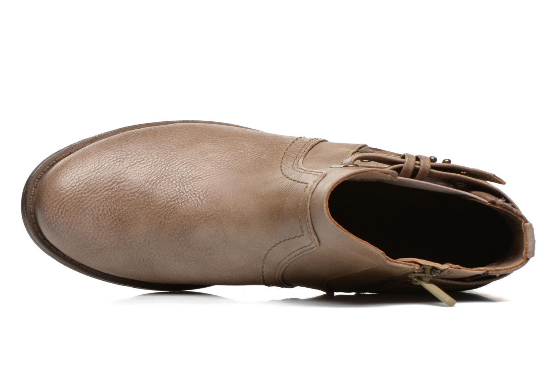 Bottines et boots Mustang shoes Lienos Beige vue gauche