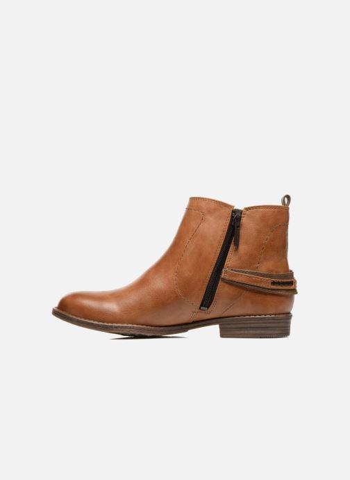 Stiefeletten & Boots Mustang shoes Isauris braun ansicht von vorne