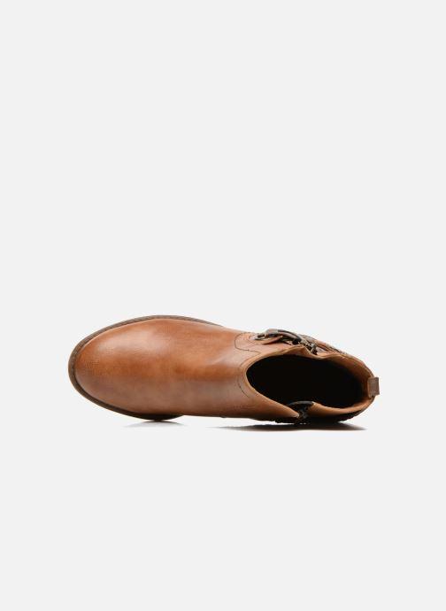 Stiefeletten & Boots Mustang shoes Isauris braun ansicht von links