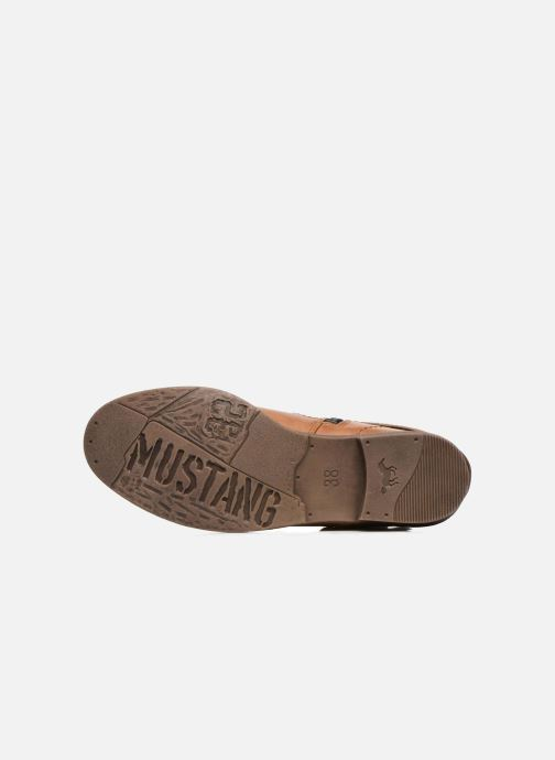 Ankle boots Mustang shoes Isauris Brown view from above