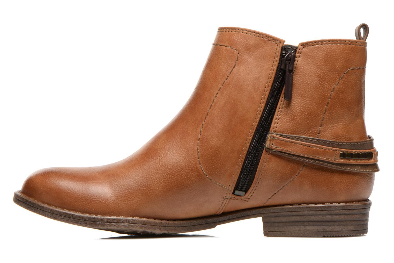 Bottines et boots Mustang shoes Isauris Marron vue face