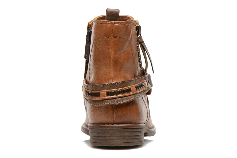 Bottines et boots Mustang shoes Isauris Marron vue droite