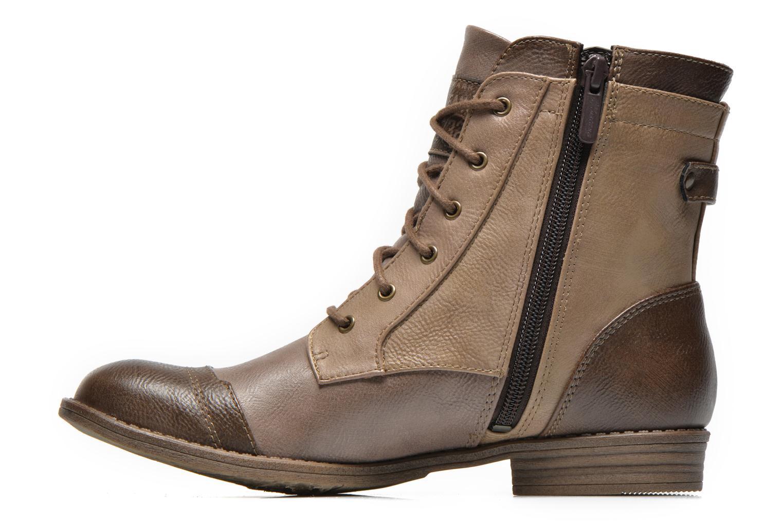 Bottines et boots Mustang shoes Toldil Marron vue face