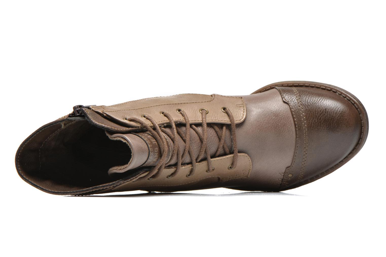 Bottines et boots Mustang shoes Toldil Marron vue gauche