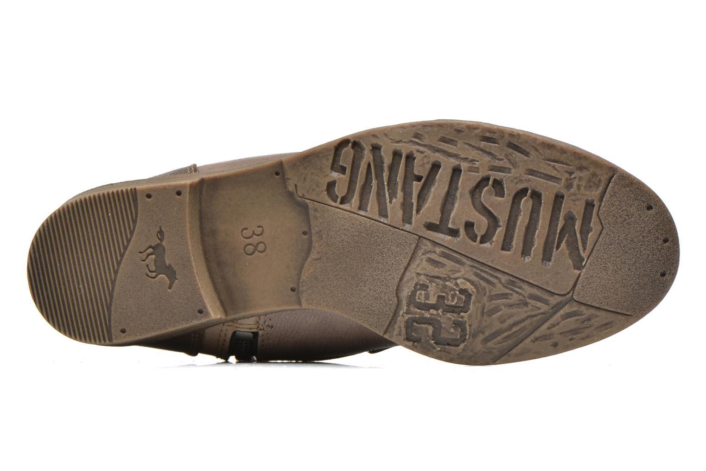 Bottines et boots Mustang shoes Toldil Marron vue haut