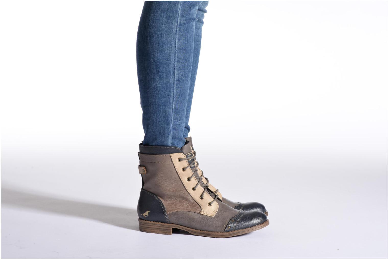 Bottines et boots Mustang shoes Toldil Multicolore vue bas / vue portée sac