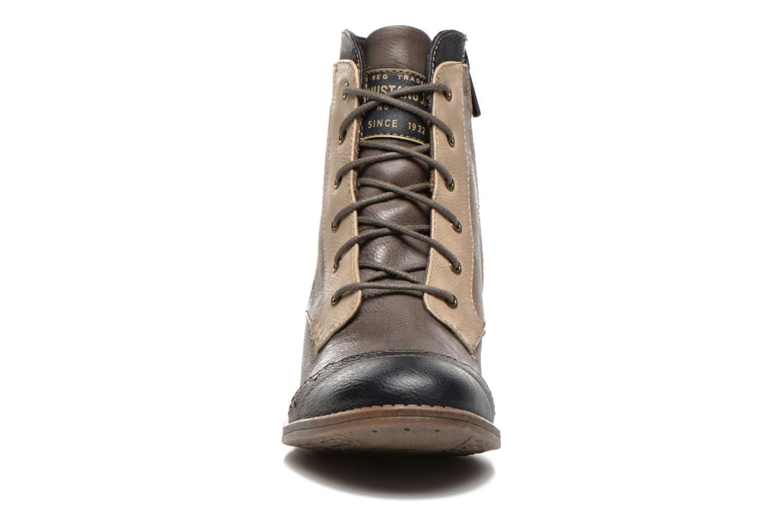 Bottines et boots Mustang shoes Toldil Multicolore vue portées chaussures
