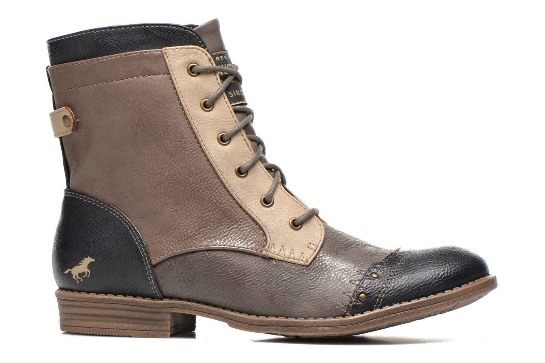 Bottines et boots Mustang shoes Toldil Multicolore vue derrière