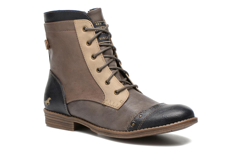 Bottines et boots Mustang shoes Toldil Multicolore vue détail/paire