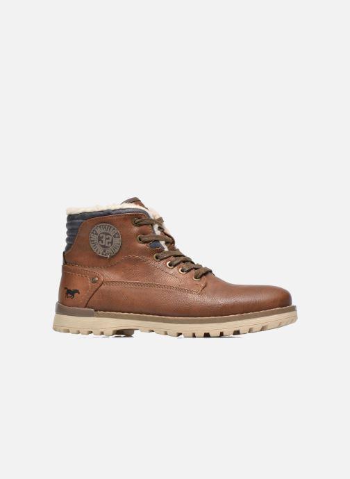 Boots en enkellaarsjes Mustang shoes Legsar Bruin achterkant