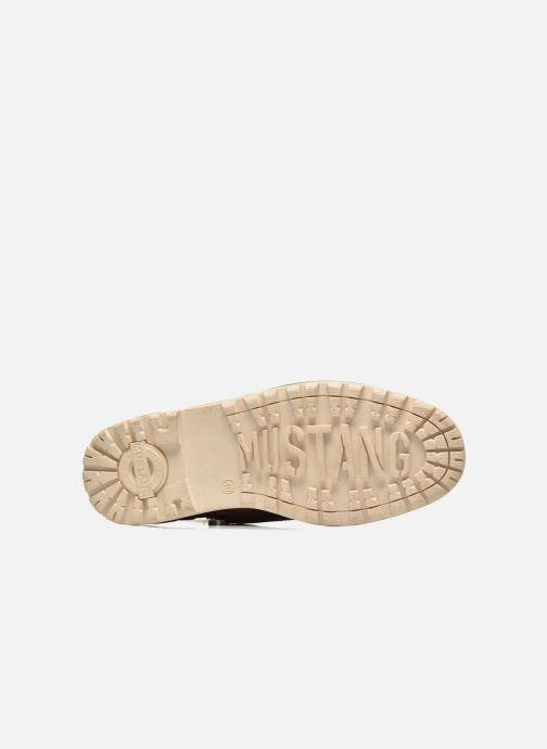 Ankle boots Mustang shoes Legsar Brown view from above