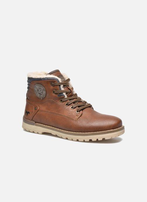 Boots en enkellaarsjes Mustang shoes Legsar Bruin detail