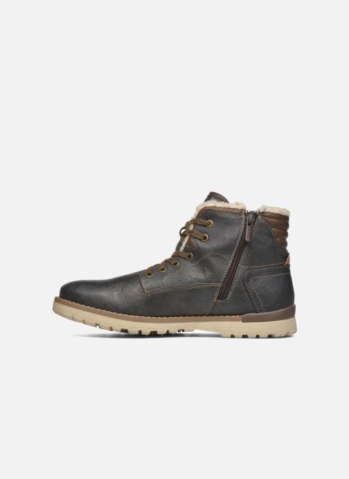 Bottines et boots Mustang shoes Legsar Gris vue face