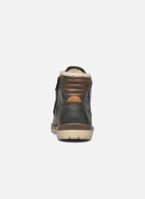 Bottines et boots Mustang shoes Legsar Gris vue droite