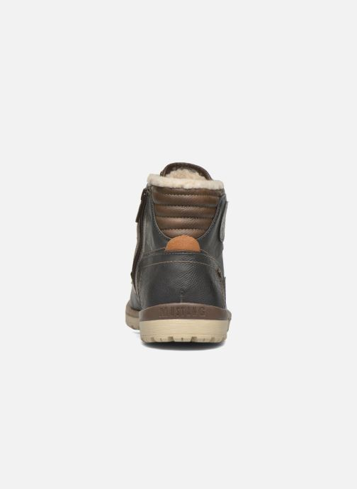Stiefeletten & Boots Mustang shoes Legsar grau ansicht von rechts