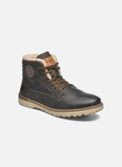 Bottines et boots Mustang shoes Legsar Gris vue détail/paire