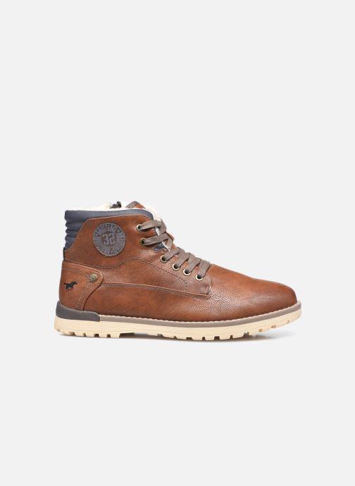 Bottines et boots Mustang shoes Legsar Marron vue derrière