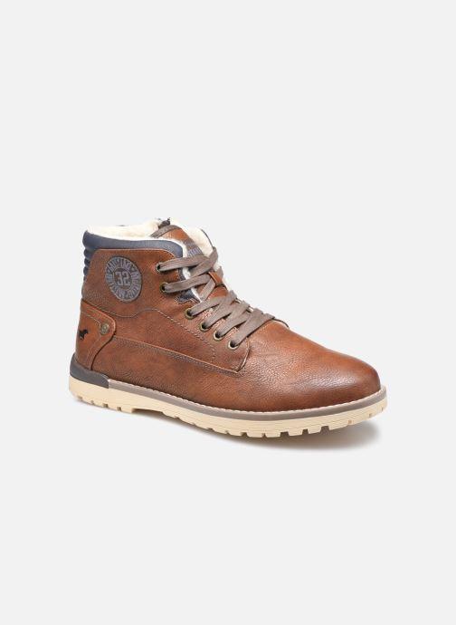 Bottines et boots Mustang shoes Legsar Marron vue détail/paire