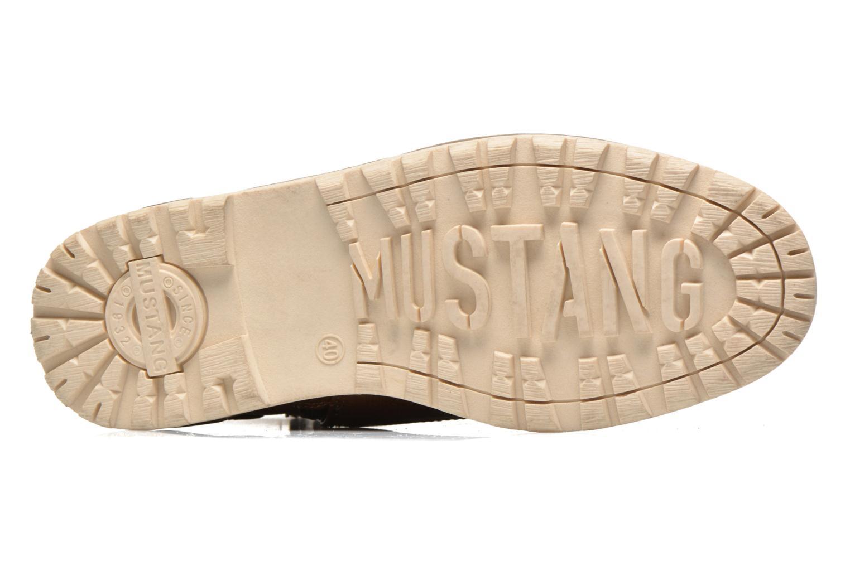Stiefeletten & Boots Mustang shoes Legsar braun ansicht von oben