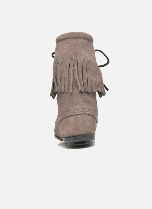 Minnetonka Suede Bottines Grey Tramper Bt Et Boots KJ1TFc3lu