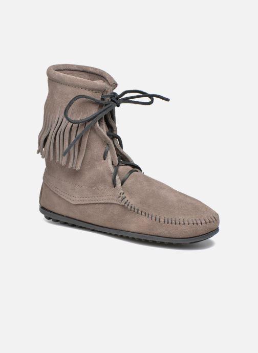 Bottines et boots Minnetonka Tramper Bt Gris vue détail/paire