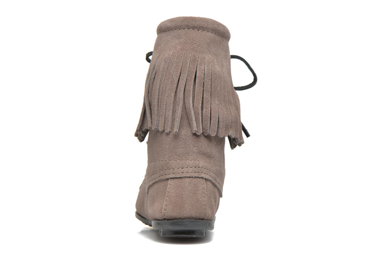 Bottines et boots Minnetonka Tramper Bt Gris vue droite
