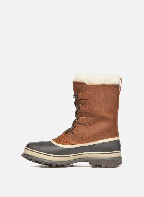 Chaussures de sport Sorel Caribou WL Marron vue face