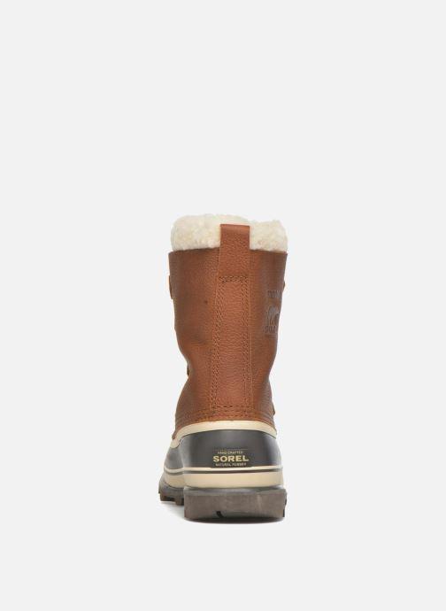 Zapatillas de deporte Sorel Caribou WL Marrón vista lateral derecha