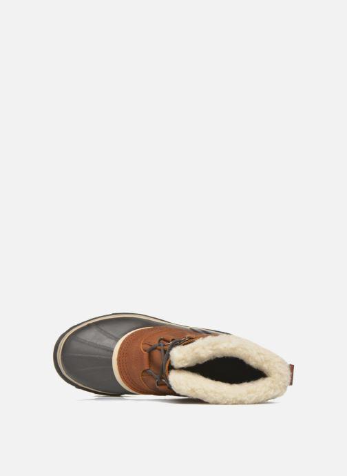 Zapatillas de deporte Sorel Caribou WL Vino vista lateral izquierda