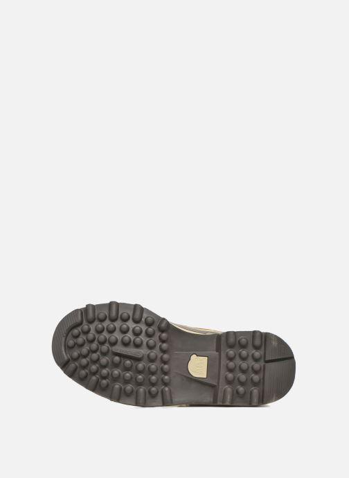 Chaussures de sport Sorel Caribou WL Bordeaux vue haut