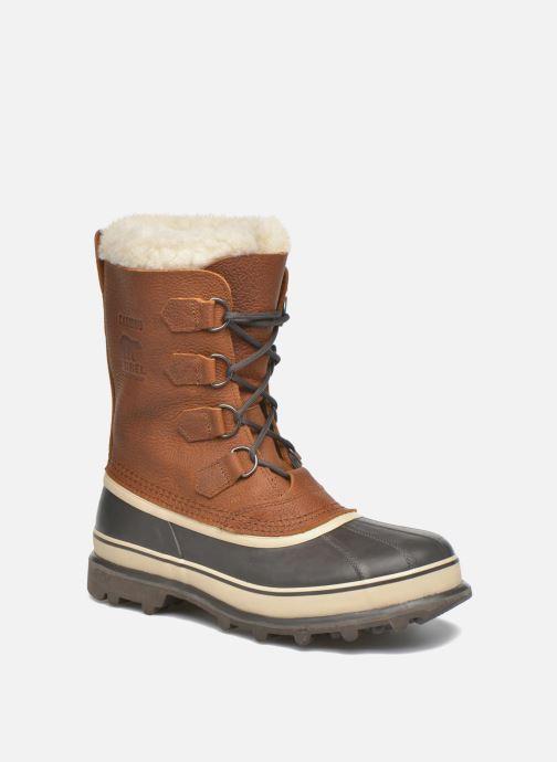 Chaussures de sport Sorel Caribou WL Marron vue détail/paire