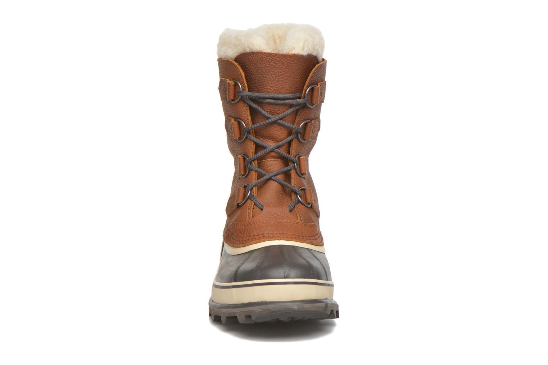 Chaussures de sport Sorel Caribou WL Bordeaux vue portées chaussures