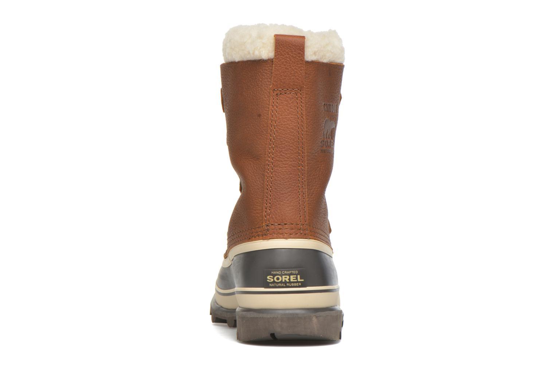 Chaussures de sport Sorel Caribou WL Bordeaux vue droite