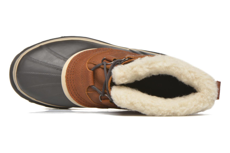 Chaussures de sport Sorel Caribou WL Bordeaux vue gauche