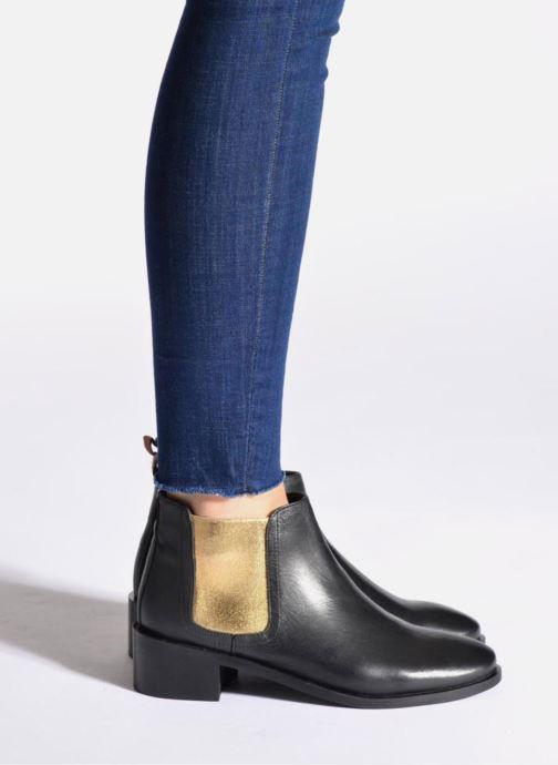 Boots en enkellaarsjes Pepe jeans Angie Special Zwart onder