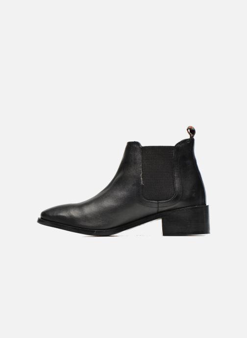 Boots en enkellaarsjes Pepe jeans Angie Special Zwart voorkant