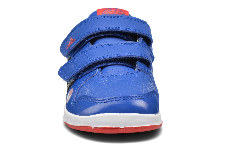 Baskets Adidas Performance LK Spider-Man CF I Bleu vue portées chaussures