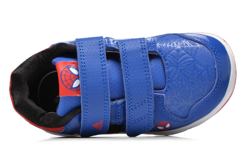 Baskets Adidas Performance LK Spider-Man CF I Bleu vue gauche
