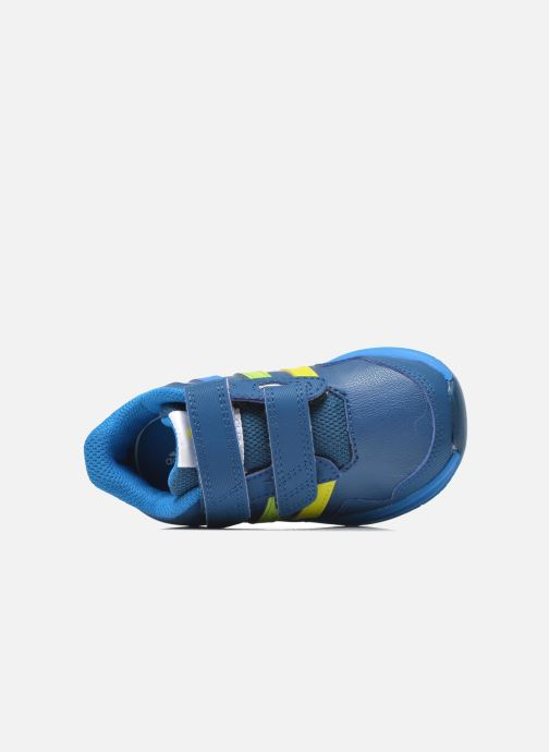 Sport shoes adidas performance Snice 4 CF I Blue view from the left